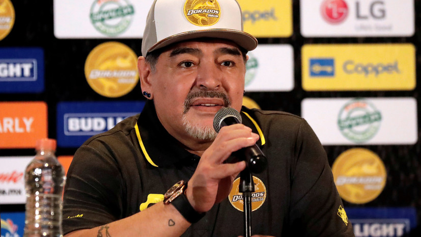 СМИ: Домашний стадион «Наполи» может получить имя Марадоны