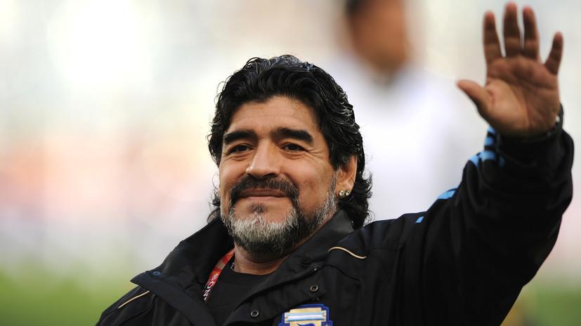 На 61-м году скончался легендарный аргентинский футболист Диего Марадона