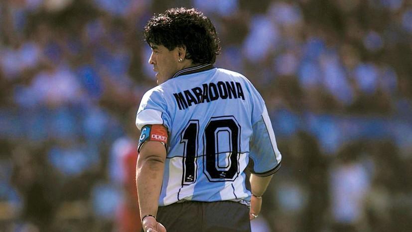 Стадион «Наполи» переименуют в честь Марадоны
