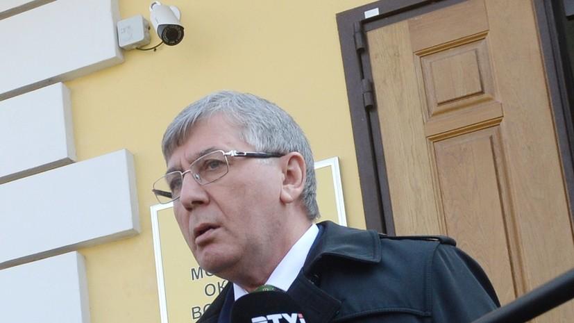 Суд в Москве приговорил адвоката Хасавова к шести годам колонии