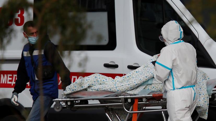 В Москве за сутки выявили почти 8 тысяч случаев коронавируса