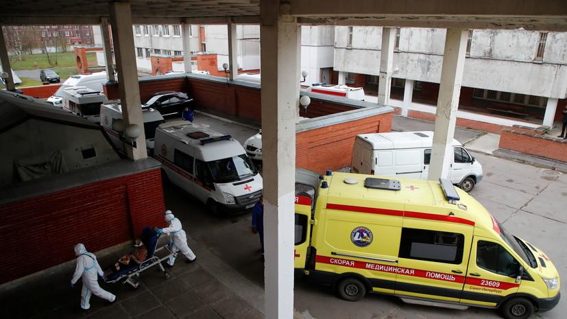 В Петербурге за сутки выявили 3687 случаев коронавируса