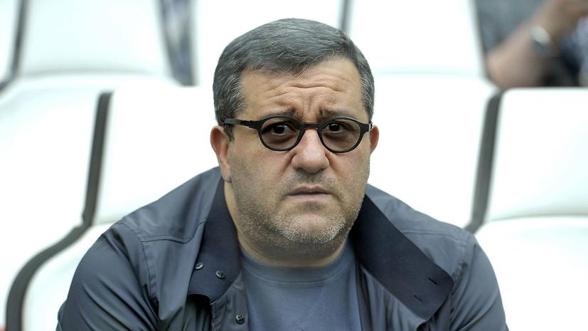 Агент Райола раскритиковал Инфантино за идею введения потолка зарплат