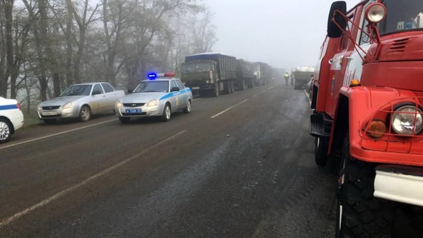 По факту ДТП с автобусом под Калугой возбуждено дело
