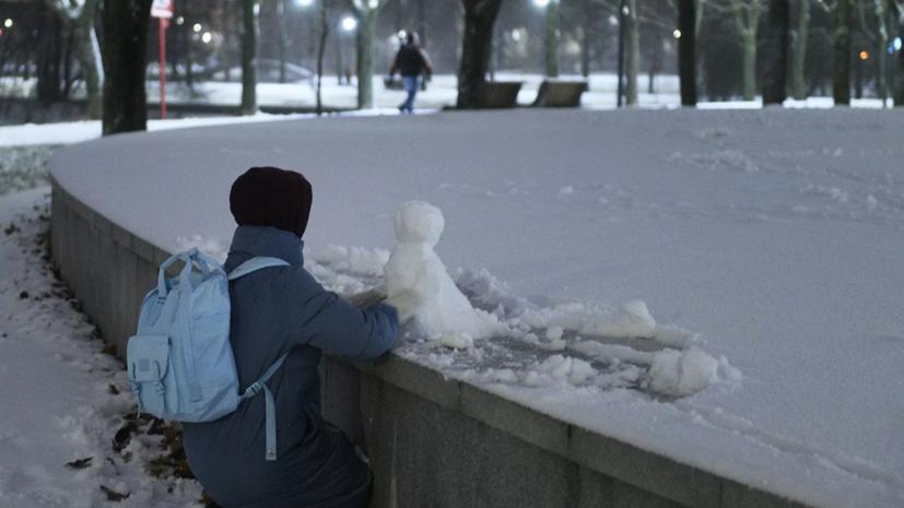 Вильфанд рассказал о снеге в начале календарной зимы в Москве