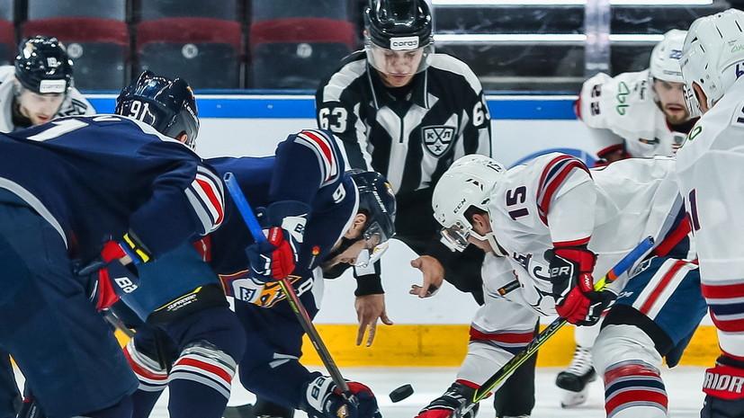«Металлург» отыгрался с 1:4 и победил «Нефтехимик» в матче КХЛ