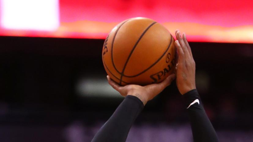 НБА подтвердила проведение предсезонных матчей с 11 по 19 декабря