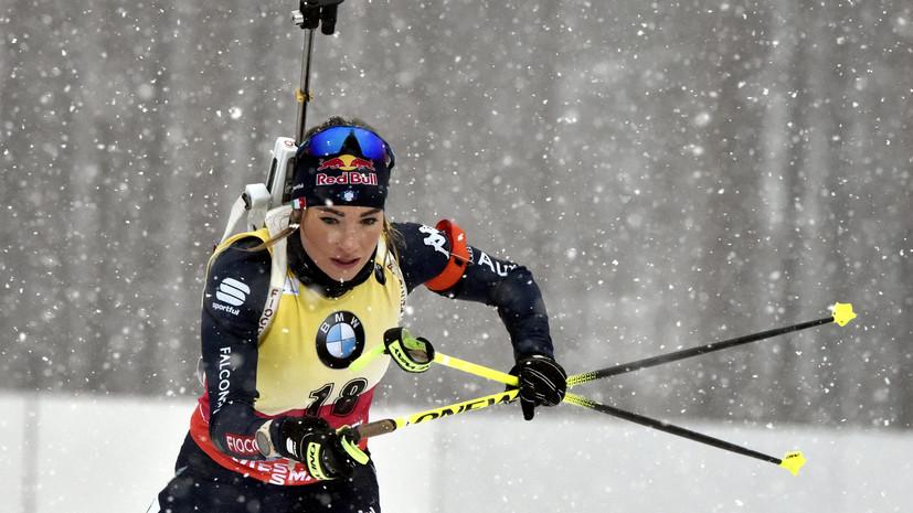 Вирер выиграла индивидуальную гонку на этапе КМ в Контиолахти
