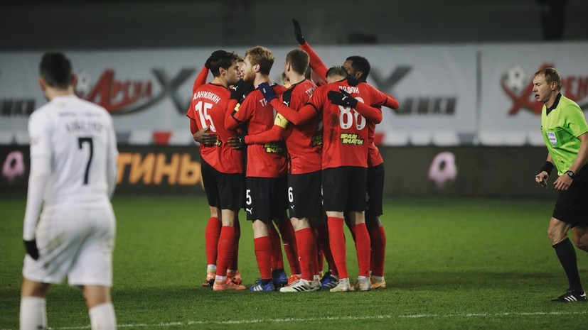«Краснодар» проиграл «Химкам» в РПЛ