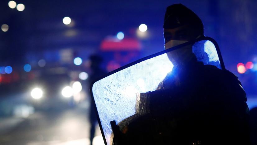 В ходе беспорядков во Франции пострадали 37 полицейских