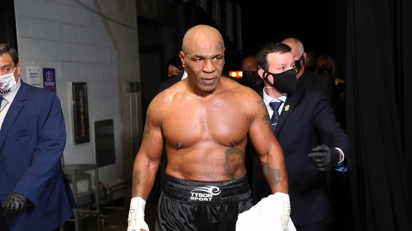 Глава UFC: я был потрясён тем, как хорошо выглядел Тайсон