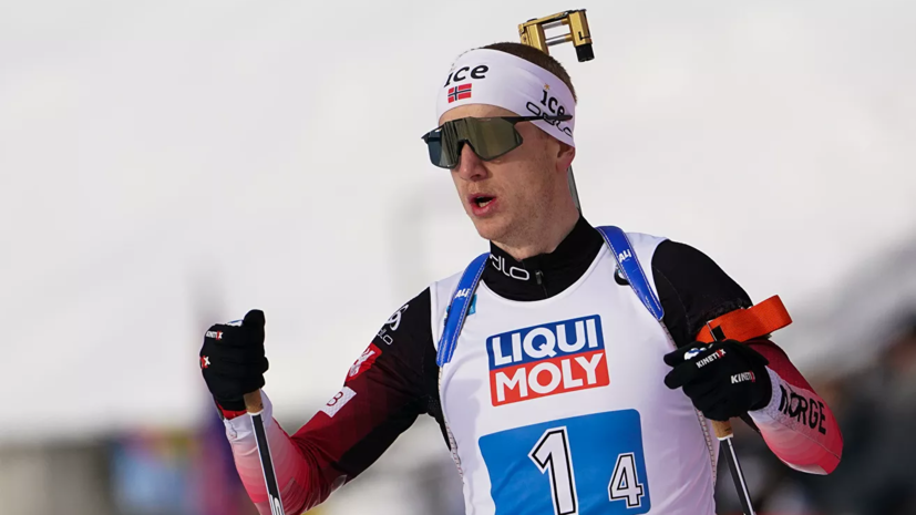 Йоханнес Бё выиграл спринт на этапе КМ по биатлону в Контиолахти, Логинов — 12-й