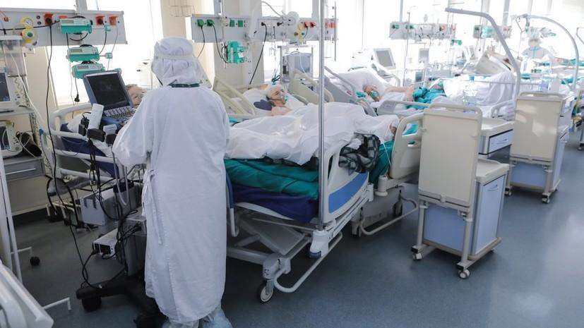 За сутки в России умерли 368 пациентов с коронавирусом