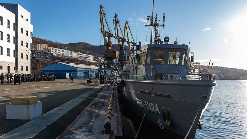 «Дополняют систему безопасности флота»: какими возможностями обладают водолазные катера РВК-1264 и «Александр Шеремет»