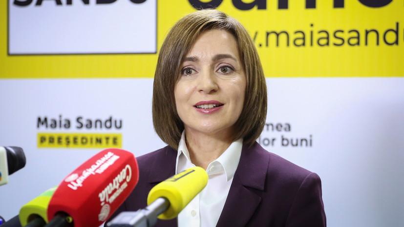Санду заявила о необходимости досрочных выборов в парламент Молдавии