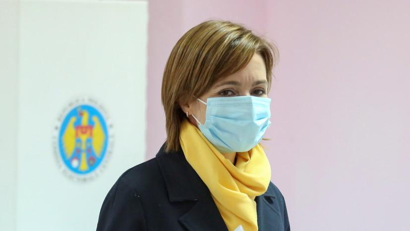 Санду вновь заявила о необходимости ухода миротворцев из Приднестровья