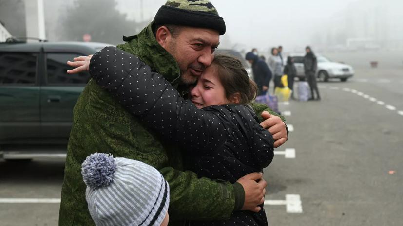 МЧС эвакуировало в Карабахе беженцев, попавших в снежный занос