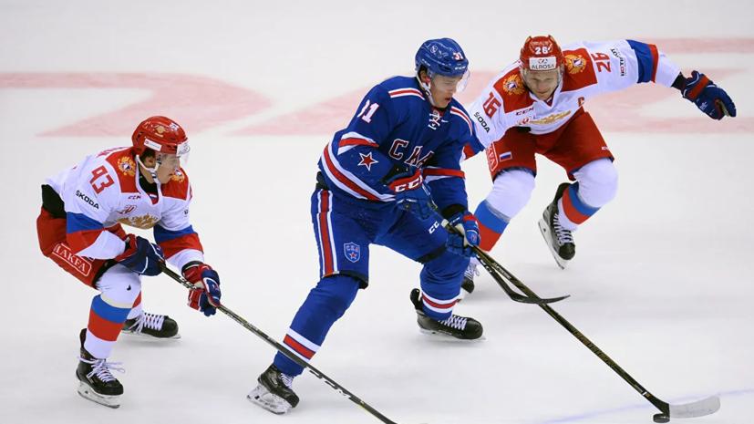 СКА объявил об уходе хоккеиста Мальцева, арендованного у «Нью-Джерси»