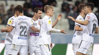Игроки ЦСКА радуются победе