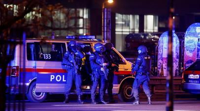 Число жертв в результате стрельбы в Вене возросло до двух