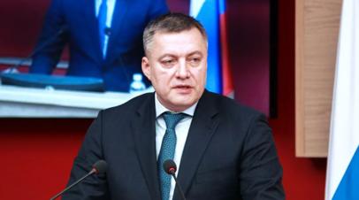Заболевший коронавирусом иркутский губернатор выписался из больницы