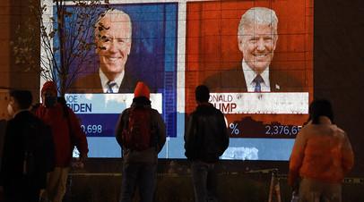 Пересчёт бюллетеней и судебные иски: ситуация в США после голосования на выборах президента
