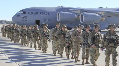 США сократят число войск в Ираке и Афганистане до 2,5 тысячи в январе