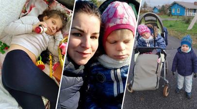 В Санкт-Петербурге мать-одиночка с ребёнком-инвалидом добивается положенной квартиры