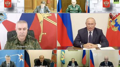 «Альтернативой может быть только война»: Путин о попытках затормозить договорённости по Карабаху