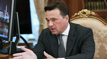 Воробьёв посетил «красную зону» в госпитале Химок