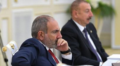 Путин провёл переговоры с Пашиняном и Алиевым
