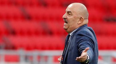 Черчесов признался, что был шокирован результатом матча Лиги наций с Сербией