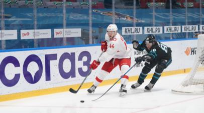 «Сочи» и «Спартак» установили новый рекорд КХЛ