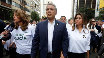 Супруга президента Колумбии заболела коронавирусом