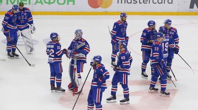 СКА одержал победу над «Барысом» в КХЛ