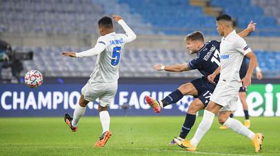 «Зенит» лишился шансов на выход в плей-офф Лиги чемпионов