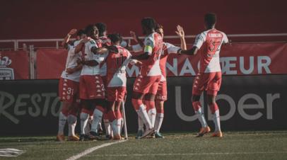 «Монако» обыграло «Ним» и поднялось на третье место в Лиге 1