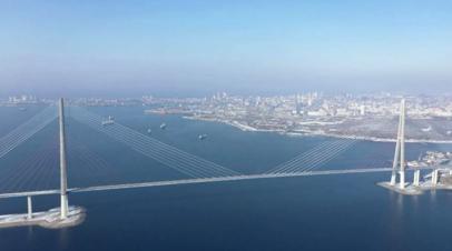Запрет на движение по мосту на остров Русский продлён