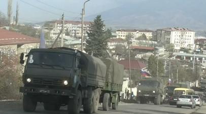 Минобороны России развернуло госпиталь в Степанакерте