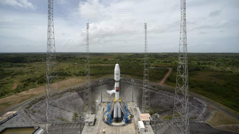 Старт «Союза» со спутником Falcon Eye с Куру снова перенесли