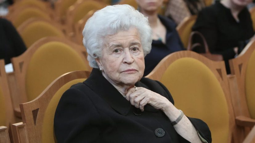 Президент ГМИИ имени Пушкина Ирина Антонова умерла в 98 лет