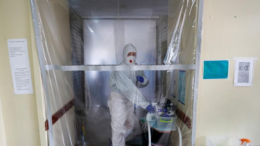 Почти 650 медиков инфицированы COVID-19 на Украине за сутки