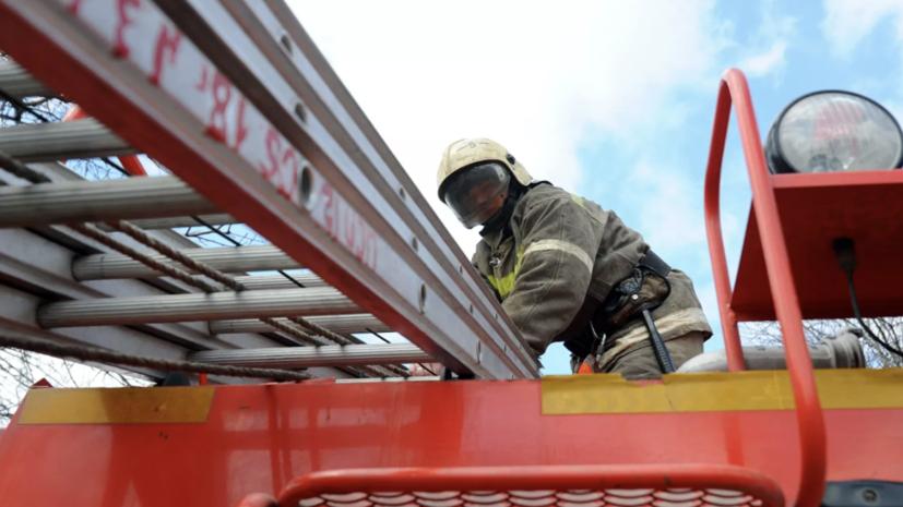 Под Суздалем произошёл крупный пожар на складе с древесиной