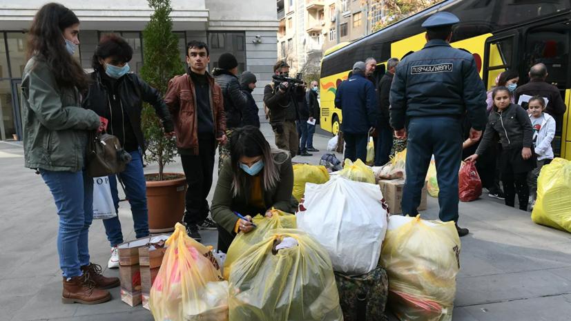 Более 1100 человек вернулись в Карабах из Армении за сутки