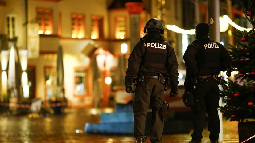 В Германии раскрыли подробности о водителе, сбившем людей в Трире