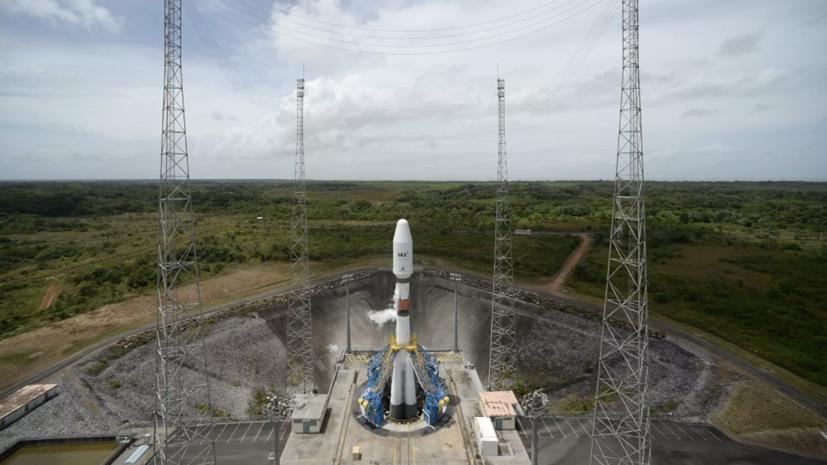 Ракета «Союз» со спутником Falcon Eye стартовала с космодрома Куру