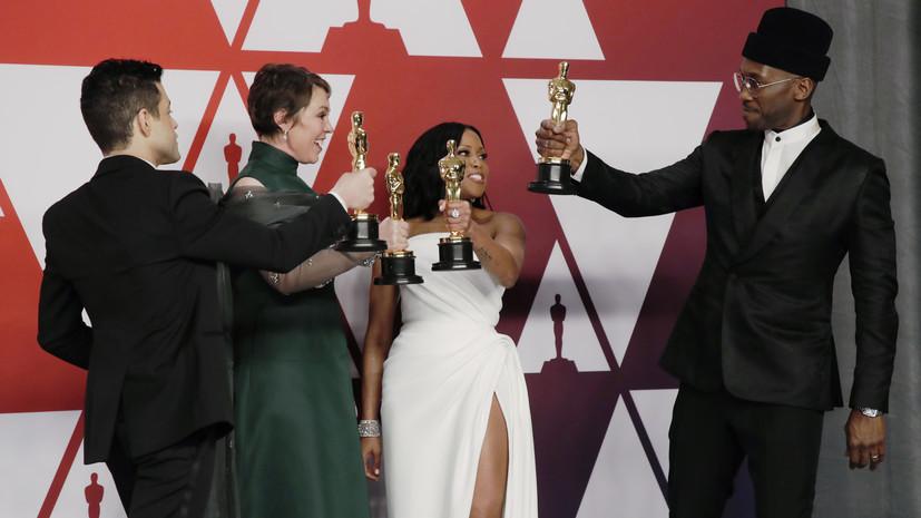 Лично в руки: организаторы «Оскара» планируют провести традиционную церемонию награждения в 2021 году