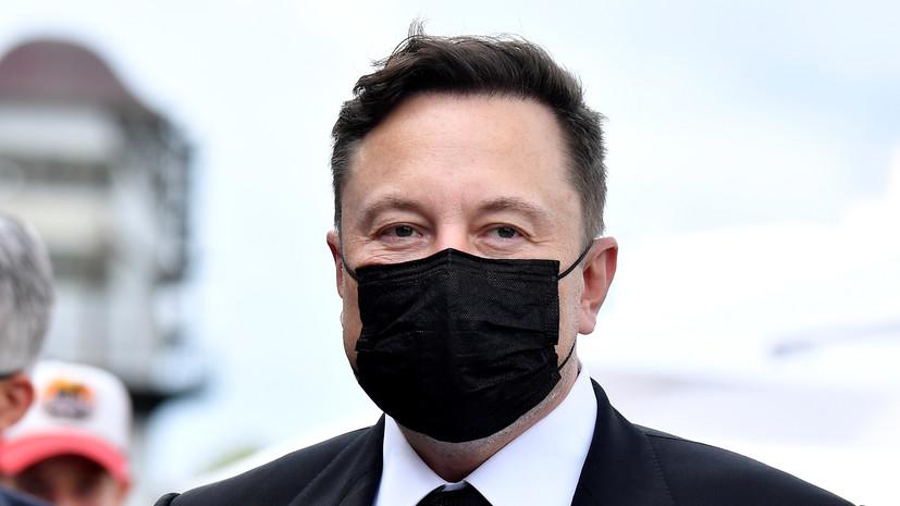 Bloomberg: Маск предупредил об угрозе падения стоимости акций Tesla