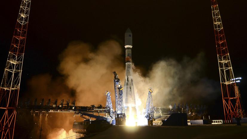 С космодрома Плесецк стартовала ракета «Союз-2» с системой «Гонец-М»