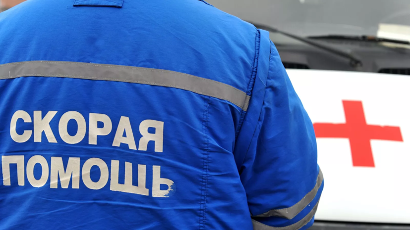 При пожаре в здании в центре Москвы погиб один человек